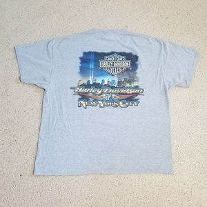 2005 Harley Davidson New York City XL T-Shirt